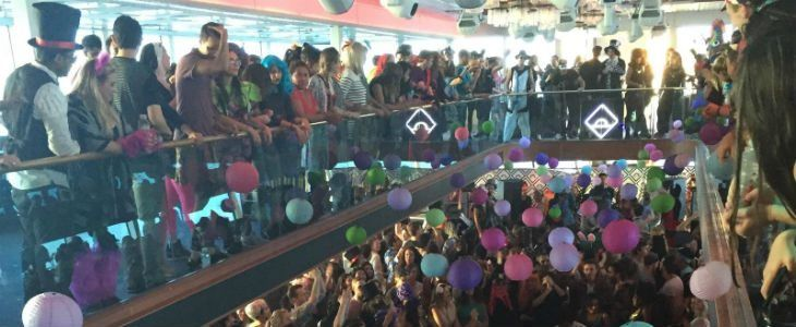 Daybreaker S Mad Hatter Halloween With Hornblower